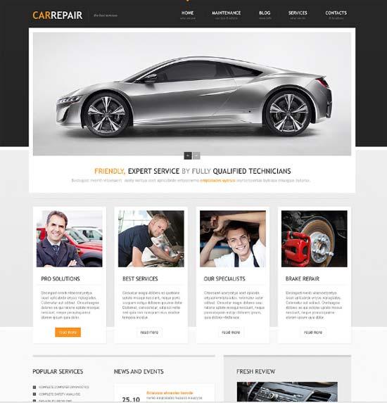 Auto Resparatur Homepage
