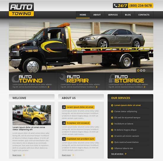 KFZ Reparatur Homepage
