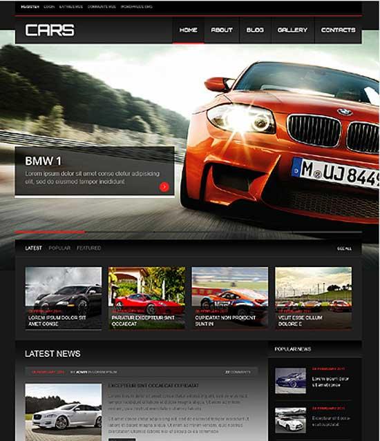 Auto Homepage