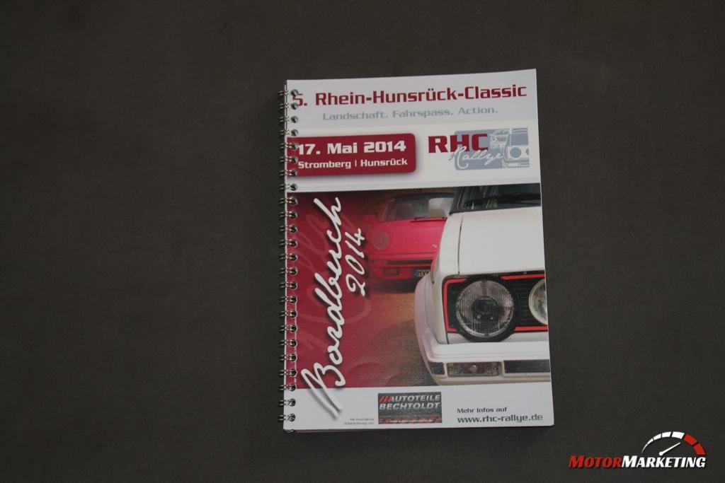 Rallye Bordbuch Rhein-Hunsrück-Classic 2014