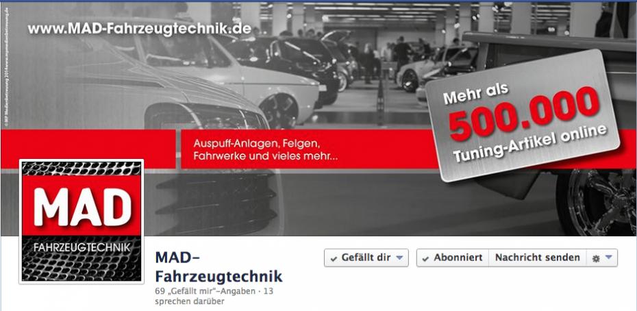 MAD Fahrzeugtechnik Shop