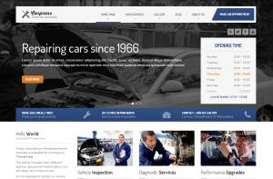 Autowerkstatt Homepage