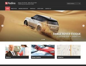 Redline Autohaus Webseite