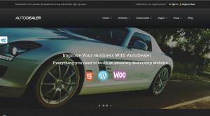 Autohändler Homepage