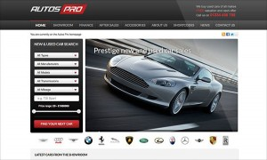 AutosPro Autohaus Webseite