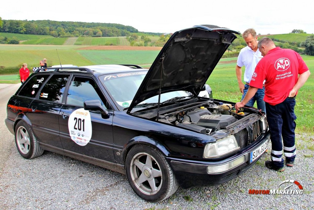 Social Media AvD Creme21 Youngtimer Rallye 2015