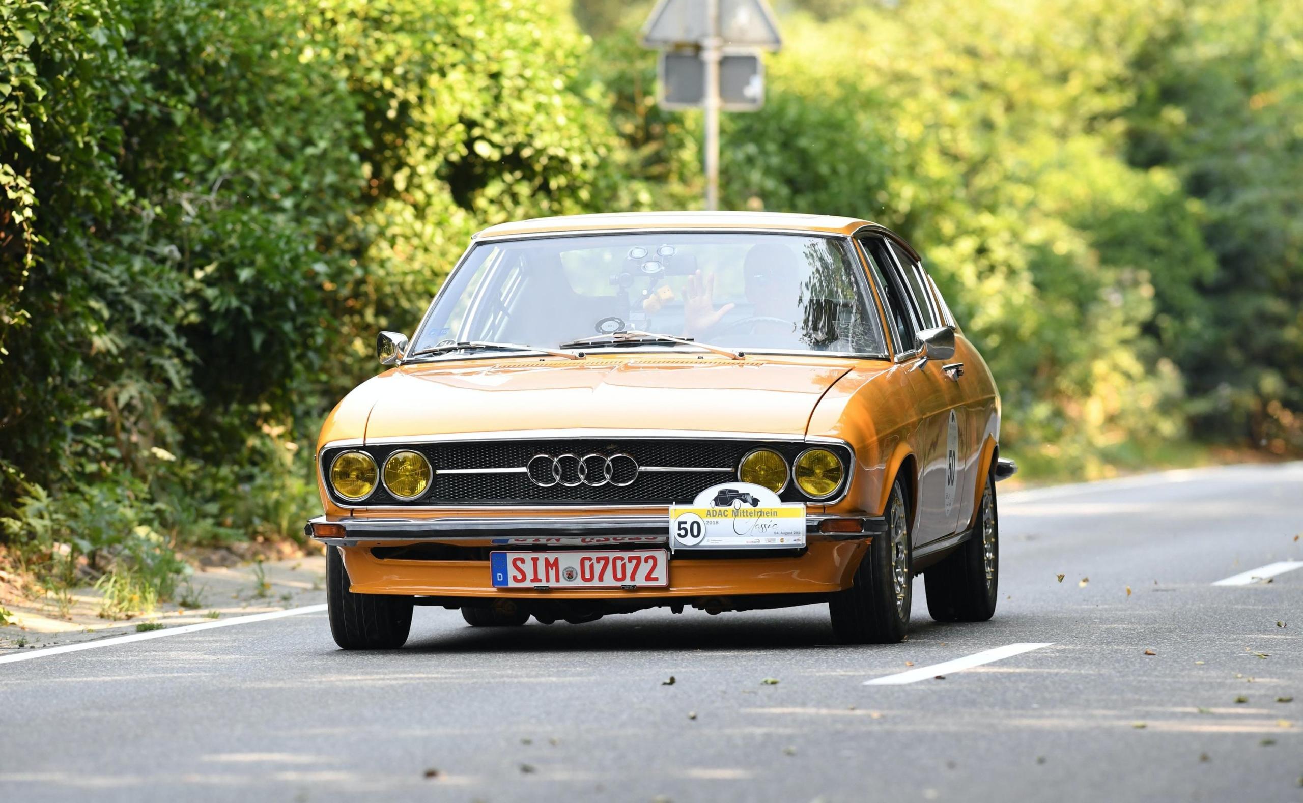 ADAC Oldtimerrallye Audi
