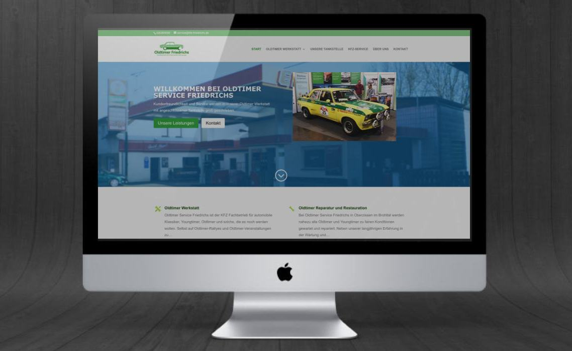 KFZ Werkstatt Webseite