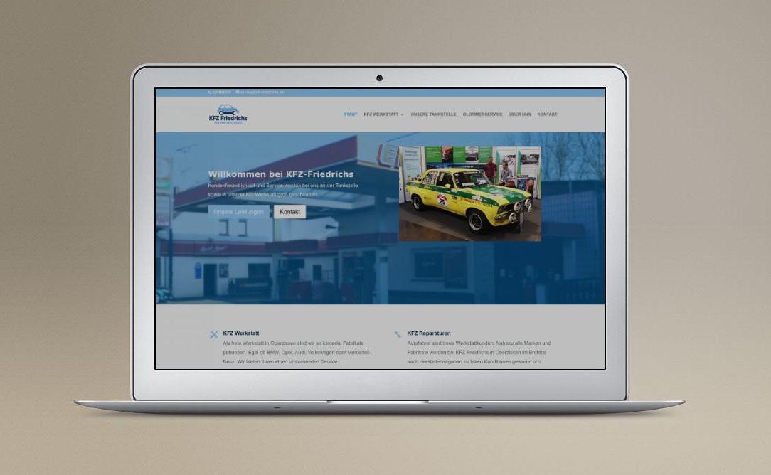 Oldtimer Werkstatt Homepage